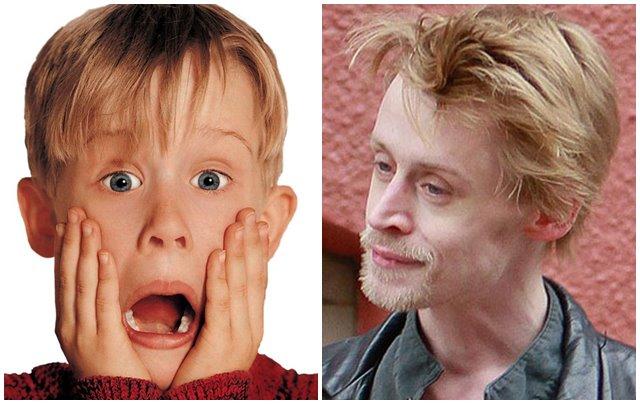 El antes y el después del actor El antes y el después del actor Macaulay Culkin